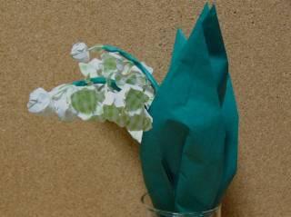 折り紙造花 すずらん その6 (オリジナル)